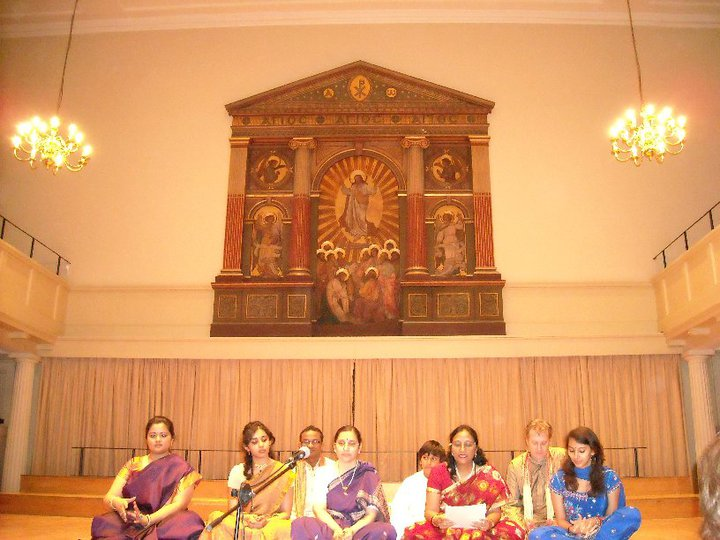 At Sai Bhajans